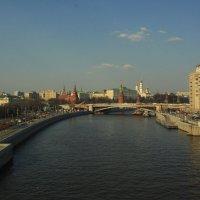 Москва. 14.04.2021г.Фото с объектива Carl Zeiss Jena MC Flektogon 2.8/20 :: Виталий Виницкий