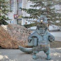 Скульптура Кот учёный :: anderson2706