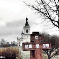 Деревня Сологубовка церковь Успения Богородицы. :: Игорь Корф