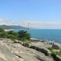 Статуя в море. :: Ирина Михайловна