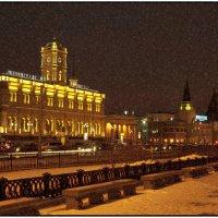 Ленинградский вокзал :: Борис Гольдберг