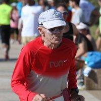 самый пожилой участник триатлон :: piter rub