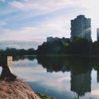 Встречаем осень на берегу.. :: Алексей Михайлов
