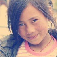 Портрет тибетской девочки :: Тамара Гераськова