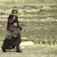 Тибетская женщина :: Тамара Гераськова