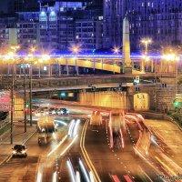 Moscow Night Speed Lights :: Igor Nekrasov