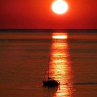 Белое море. Закат :: Сергей Кордумов