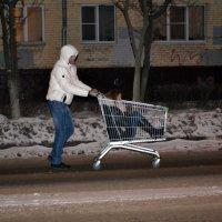 Нетривиальный новогодний подарок из супермаркета :: Борис Русаков