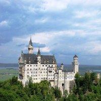 Вид на замок Нойшванштайн :: Ольга Иргит