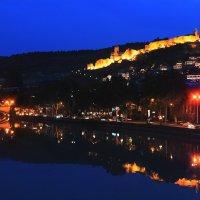 Ночной Тбилиси, Ортачала. :: Ирма .