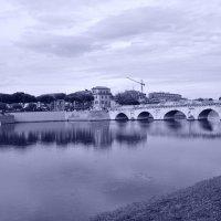 Мост Тиберия (Римини, Италия) :: Евгений Балибардин