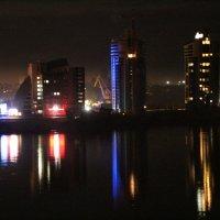 речной вокзал ночью :: Полина
