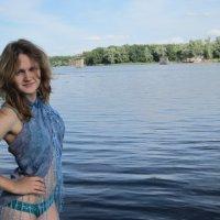 У реки :: Анастасия Серебренникова