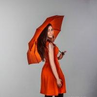 Девушка с зонтом :: Александр Русть