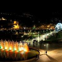 Парк Рике и мост Мира. Тбилиси. :: Ирма .