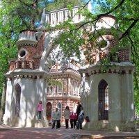 Виноградные ворота в парке Царицыно :: Борис Русаков