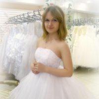 Фотосессия в свадебном салоне :: Анастасия Серебренникова