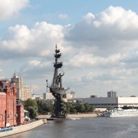 Москва. Памятник Петру I. :: Олег Фролов