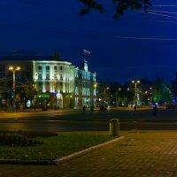 Ночной пейзаж.. :: Юрий Стародубцев