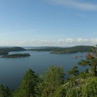 Вода,вода... и острова. :: Ирина Михайловна