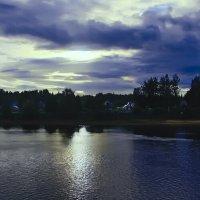 Холодный вечер на реке :: Nikolay Monahov