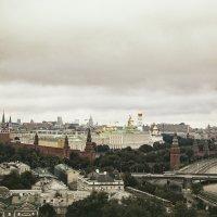 От башни до башни. Кремль). :: Екатерина Рябинина