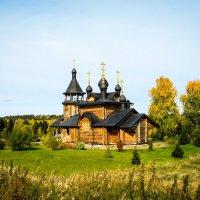 Деревянная церковь Всех Святых, в земле Сибирской просиявших. :: Любовь