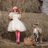Пастушка :: Olga Burmistrova