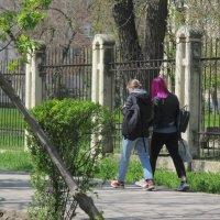 Весна идёт по городу :: Нина Бутко