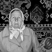 Баба Аня. 1996. Из оцифрованного. :: Михаил Полыгалов