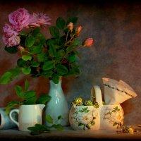 Натюрморт с розами :: Нэля Лысенко