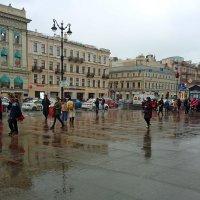 В нашем городе дождь... :: Ирина Румянцева