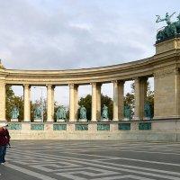 На площади Героев. Будапешт :: Татьяна Ларионова