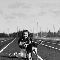 Человек собаке друг :: Tatiana Kochergina
