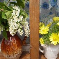 Окно в моем саду. :: Венера Чуйкова