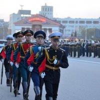 Репетиция парада на Соборной площади :: Savayr