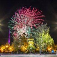 Салют 9 Мая 2021 года в Белгороде :: Игорь Сарапулов