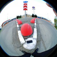 """""""Грустный клоун"""".       Уличный арт. :: Alexey YakovLev"""