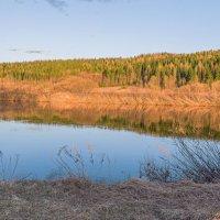 Своенравный северный май на реке Ухта. Республика Коми. :: Николай Зиновьев