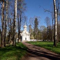 церковь Святой Троицы в Сергиевке (архитектор Штакеншнейдер) :: Елена