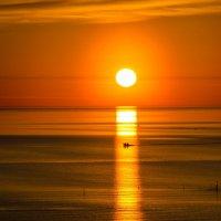 рыбалка на закате :: Елена Кордумова