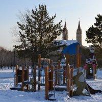 Зимняя детская сказка,в Караганде... :: Андрей Хлопонин