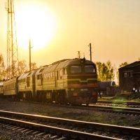 Вечер на станции :: Сергей Кочнев