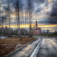 дорога к храму :: Александр Катаев