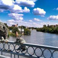 На мосту :: Ольга Винницкая (Olenka)
