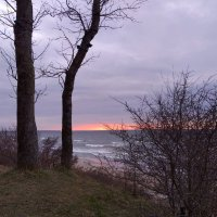 Закат на Балтийском море :: Елена Красильникова