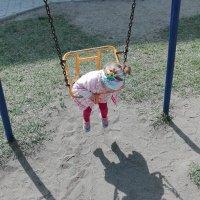 Как Арина изучала свою тень... :: TATYANA PODYMA