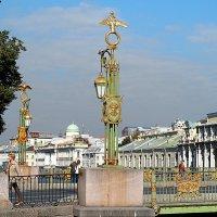 Пантелеймоновский мост в Санкт-Петербурге :: Галина