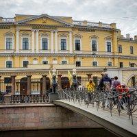 Львиный мост. Санкт-Петербург. :: Олег Кузовлев