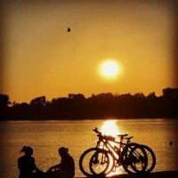 Вечер на Первом Суздальском озере :: Андрей Зайцев